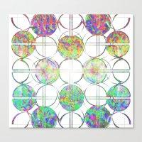 Refraction Tiles Canvas Print