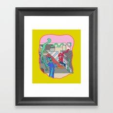 Diferent Forms Framed Art Print