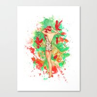 Praying For A Riot Canvas Print