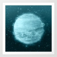 Ice Planet Art Print