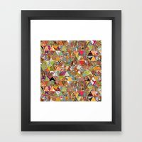 Like A Quilt Framed Art Print