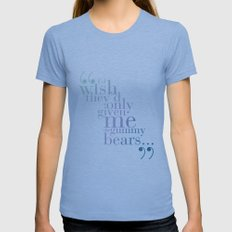 Gummy bears Womens Fitted Tee Athletic Blue SMALL