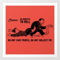 Go To Hell Art Print