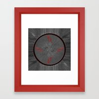 Clock....? Framed Art Print