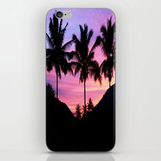 Sunset Palm Trees iPhone & iPod Skin