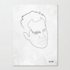 One line Die Hard Canvas Print
