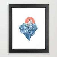 Live in North Pole Framed Art Print