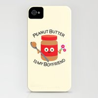 iPhone 4s & iPhone 4 Cases featuring Don't Be Jelly by David Olenick