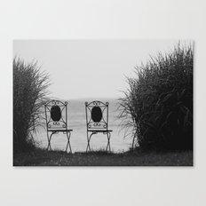 everybody left. Canvas Print