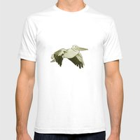 Pellicano Mens Fitted Tee White SMALL