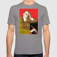 Sergei Rachmaninov Mens Fitted Tee Tri-Grey SMALL