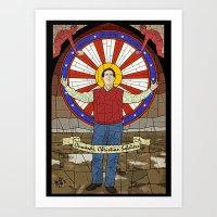 Fields of Santorum Art Print