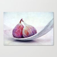 purple fruits III Canvas Print
