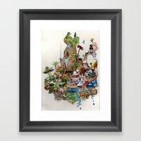 Isle Framed Art Print