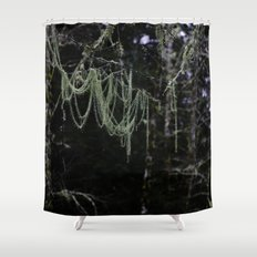 Nature's Chandelier Shower Curtain