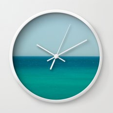 Sea & Sky abstract Wall Clock