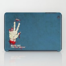 Who want some peace? iPad Case