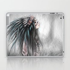 Walking Through Fog Laptop & iPad Skin