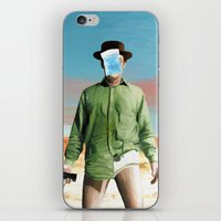 Les Cristaux de l'Homme iPhone & iPod Skin