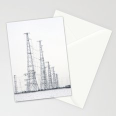 towers and wires Stationery Cards