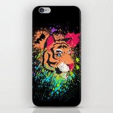 SPLASH OF TIGER. iPhone & iPod Skin