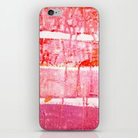 coral paint wash iPhone & iPod Skin
