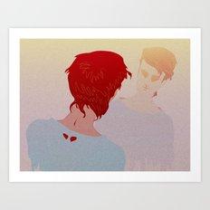 ANTIMATTER Art Print
