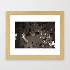 Bits Framed Art Print