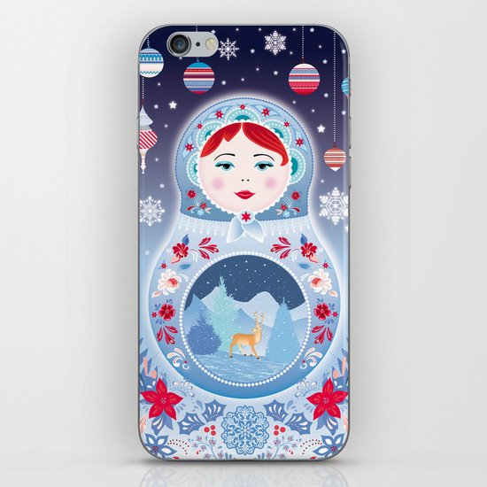 Our Lady of Winter iPhone & iPod Skin