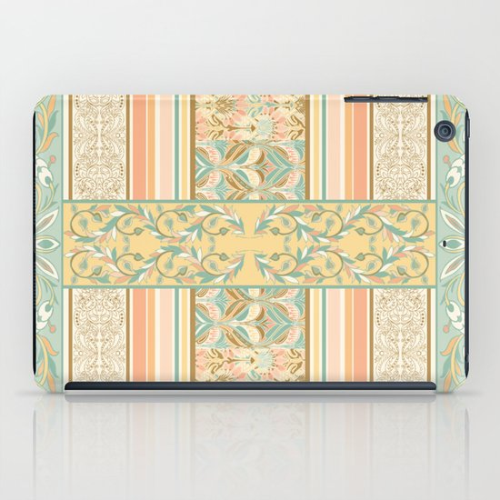Vintage Stripe iPad Case