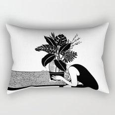 Tragedy makes you grow up Rectangular Pillow