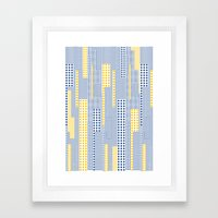 Geo Pattern 06 Framed Art Print