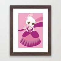 Let Them Eat Cupcake Framed Art Print