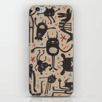 Topsy Turvy - Light iPhone & iPod Skin