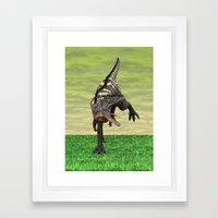 Dinosaur Aucasaurus Framed Art Print