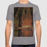 The Magical Temple Mens Fitted Tee Athletic Grey SMALL