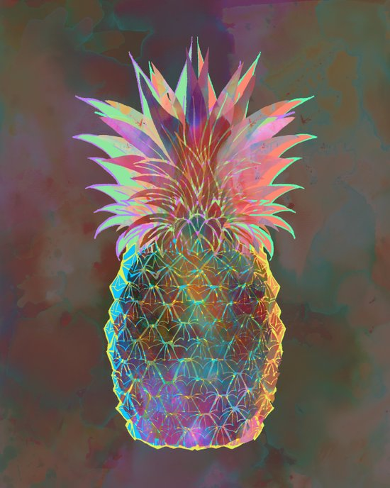 Pineapple Express Art Print