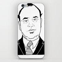 Al 'Scarface' Capone iPhone & iPod Skin