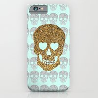 iPhone & iPod Case featuring skulls & heartz;; by Taylor St. Claire