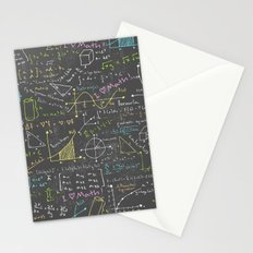 Math Lessons Stationery Cards