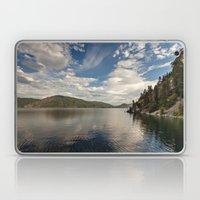 morning light over the lake Laptop & iPad Skin