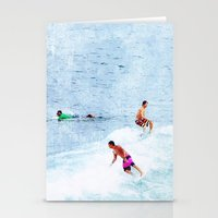 Surfing Time Stationery Cards