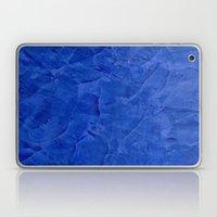 Dark Blue Stucco Laptop & iPad Skin