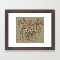 These Trees Stand Tall Framed Art Print