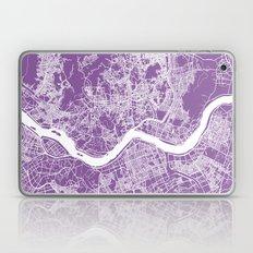 Seoul Map Lilac Laptop & iPad Skin