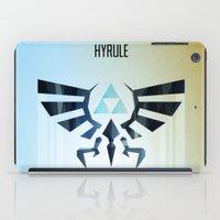 The Legend of Zelda - Hyrule Rising Poster iPad Case