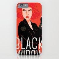 Black Widow iPhone 6 Slim Case