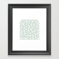 #264 Mountain Range – … Framed Art Print