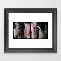 Click Go The Shears - Through The Viewfinder (TTV) - Diptych Framed Art Print
