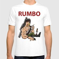 Rumbo - An Incredibly Vi… Mens Fitted Tee White SMALL